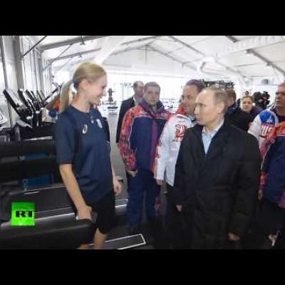 """""""Владимир Путин осмотрел Олимпийскую деревню"""""""